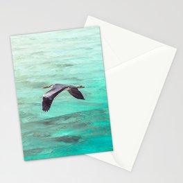 Maldivian Grey Heron Stationery Cards