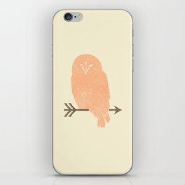 Owl and Arrow iPhone Skin