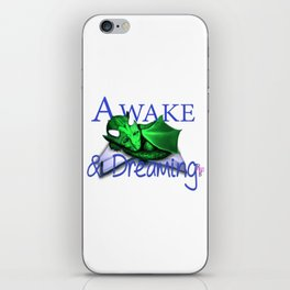 Awae and Dreaming-Revolting Reads iPhone Skin