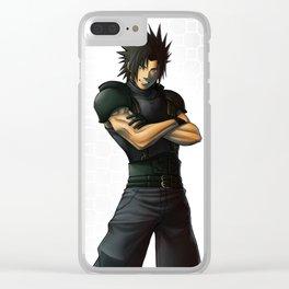 Zack Fair Clear iPhone Case