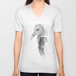 Black Vulture Unisex V-Neck