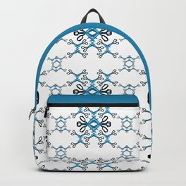 Shears on white Backpack
