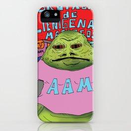 Jabba the moyan iPhone Case
