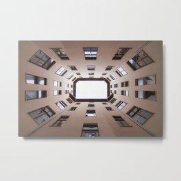 Hinterhof 60 Metal Print