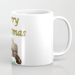 Sulcata Tortoise - Merry Christmas Coffee Mug