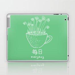 Flower No.1 (mainichi) Laptop & iPad Skin