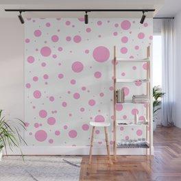 White pink circles by ilya konyukhov (c) Wall Mural