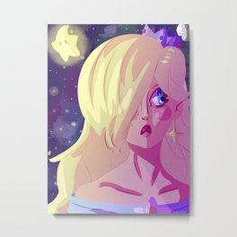 Space Queen Metal Print