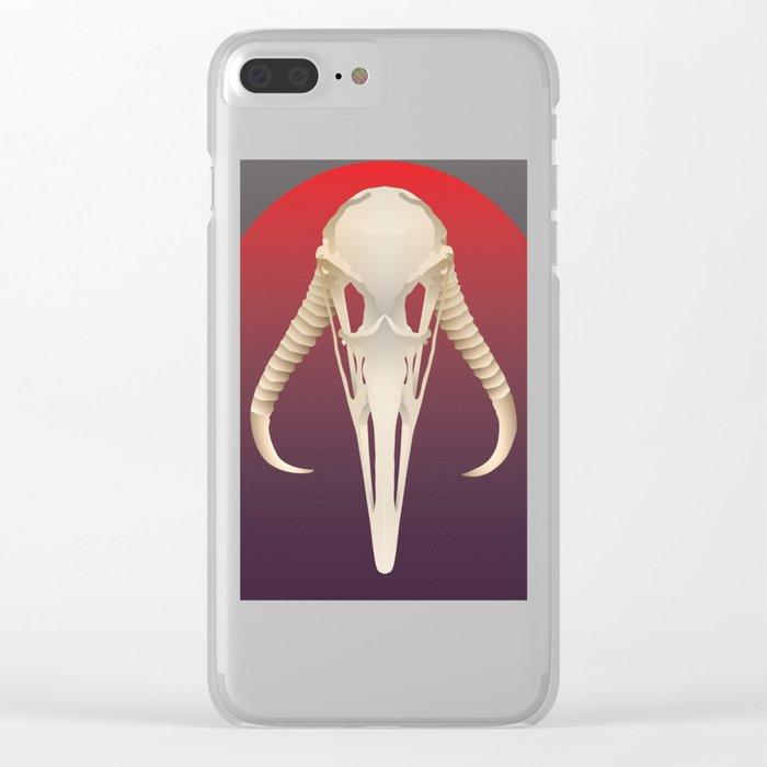 Mandalori Calvaria Clear iPhone Case