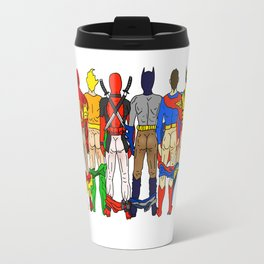 Superhero Butts LV Travel Mug