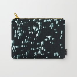 Blue Bokeh Carry-All Pouch