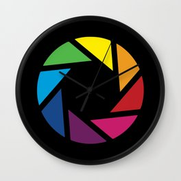 Graphic Lab Color Wall Clock