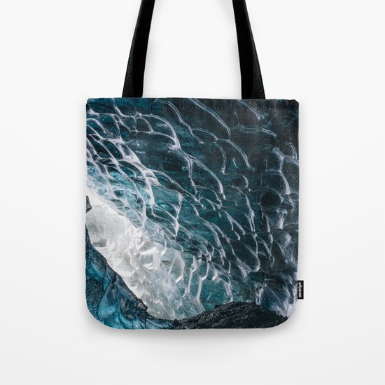 Cave of waves Tote Bag