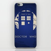 doctor who iPhone & iPod Skins featuring Doctor Who by LukeMorgan