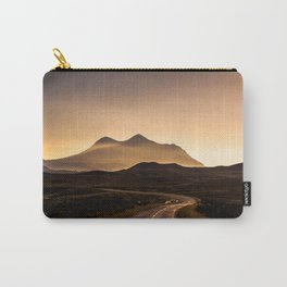 Sunset Mountain Road Carry-All Pouch