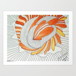 OTOÑO 12 Art Print