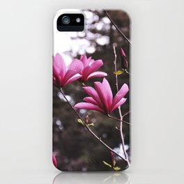 Pink flowers by Giada Ciotola iPhone Case