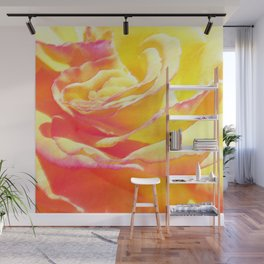 Love and Peace Pastel Rose Wall Mural