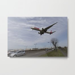Tam Boeing 777 Heathrow Airport Metal Print