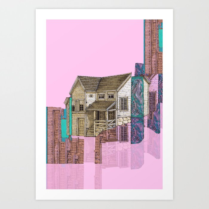 descontruction Art Print