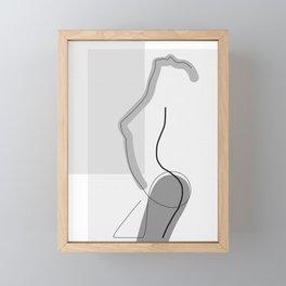 Body Exposure Framed Mini Art Print