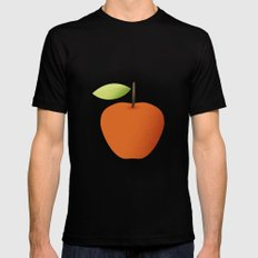 Apple 05 Mens Fitted Tee Black MEDIUM