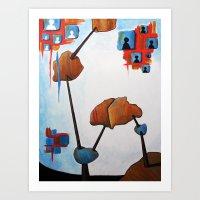 Spaceghetto Art Print
