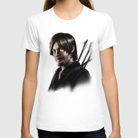 daryl dixon T-shirts featuring Daryl Dixon by Angelo Quintero