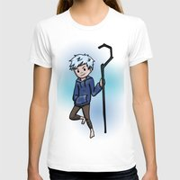 jack frost T-shirts featuring Jack Frost by Fenlaf
