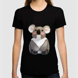 Lovely koala bear sitting and looking up. T-shirt