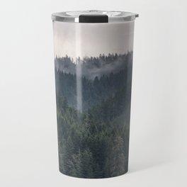 Pacific Northwest Forest - Nature Photography Travel Mug