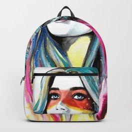 BOHO-GIRL-FEATHER Backpack