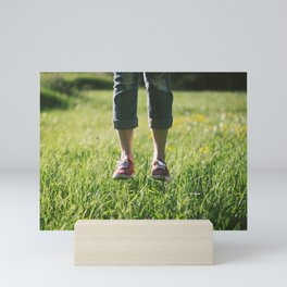 Jumping or Floating Mini Art Print