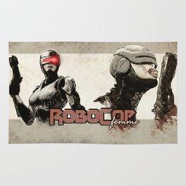 Robocop Girl - Desafío52 Rug