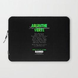 ABSINTHE VERTE Laptop Sleeve