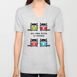 All You Need Is Meow Unisex V-Neck