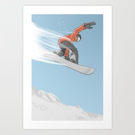 Feel the Flight Art Print