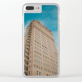 Alico Building, Waco Clear iPhone Case