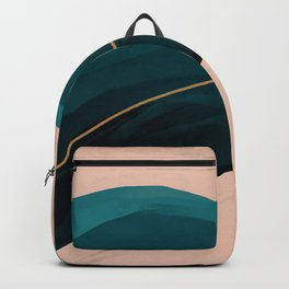 California Watercolor Winter Backpack