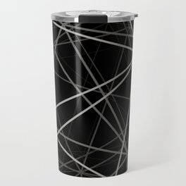 Geometric lines Travel Mug