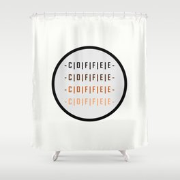Coffee - How do you like yours? Shower Curtain