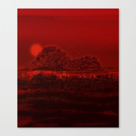 The Emerging Island / San Borondon 2016 Canvas Print