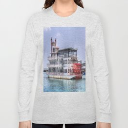 New Orleans Paddle Steamer Long Sleeve T-shirt