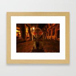 Late Framed Art Print