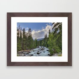 The Icicle. Framed Art Print