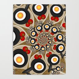 Brunch, Fractal Art Fantasy Poster