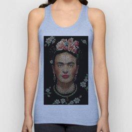 Frida Kahlo dots Unisex Tank Top