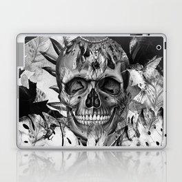 Black White Boho Skull Laptop & iPad Skin