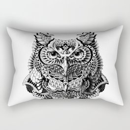 Century Owl Rectangular Pillow