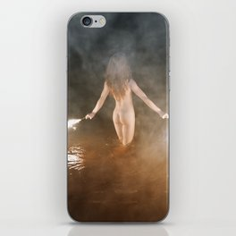 Fire Swim With Me iPhone Skin